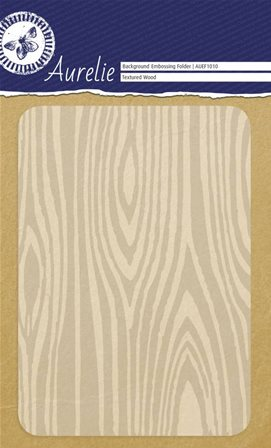Embossing Folder - Textured Wood