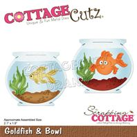 Cottage Cutz - Goldfish & Bowl