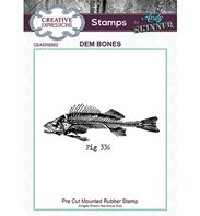 Cling Stamp - Dem Bones