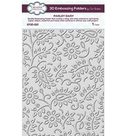 3D Embossing Folder - Paisly daisy