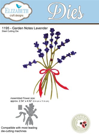 Elizabeth Craft - Garden Notes Lavender