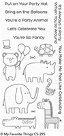 Clear Stamps - Safari Party