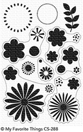 Clear Stamps - Bold Blossoms