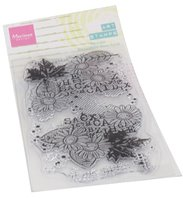 Clear stamp - Art Stamp Chrysant