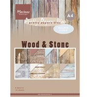 Papers bloc- Wood & Stone