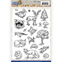 Clear stamp - Forest Animals