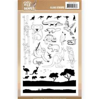 Cleat Stamp - Wild Animals Outback