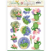 Papier 3D - Welcome Spring - Hyacinth
