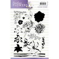 Clear Stamps - Timeless Flowers