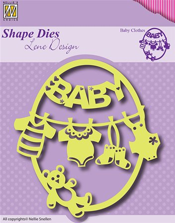 Shape Dies - Baby Clothes