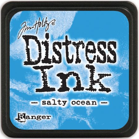 Mini Distress Pad - Salty Ocean