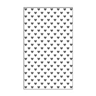 Mini Embossing Folder - Hearts