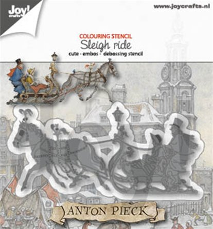 Die - Anton Pieck - Sleigh ride