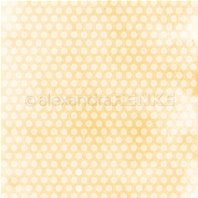 Papier - Large dots on yellow