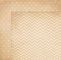 Papier Double Dot - Chiffon Chevron