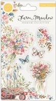 Clear stamps - Farm Meadow - Floral