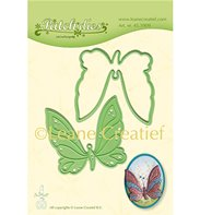 Leabilities - Patch die Butterfly