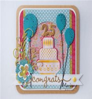 Creatables Limited Edition - Congrats & Balloon