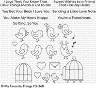 Clear Stamps - Tweethearts