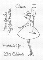 Clear stamps - A la Modes Cheers