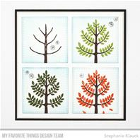 Clear Stamps - Modern Trees