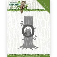 Die- Amazing Owls - Owl in the tree