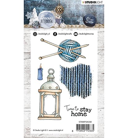 Clear Stamp - Snowy Afternoon - 398