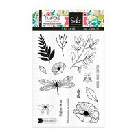 Clear stamp - So'Bloom - C'est la vie
