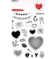 Clear Stamp - Filled with Love - 508
