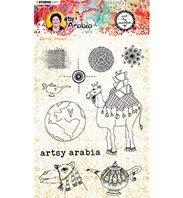 Clear stamp - Art by Marlene - Artsy Arabia 60