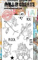 Clear Stamps - A6 - #72 - Rocking Corns