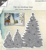 Die - Pop up Christmas trees