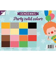 A4 Paper set- Party soldid colors
