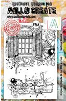 Clear Stamps - A5 - #268 - Shuttered Window