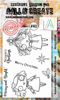 Clear Stamps-A6-#413-Merry & Bright