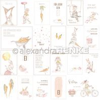 Papier - Happy Easter - Card sheet