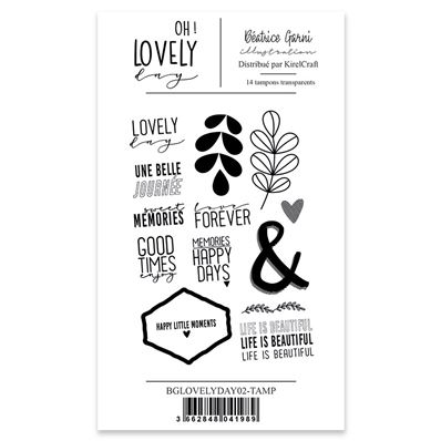 Clear Stamp - Lovely Day 02