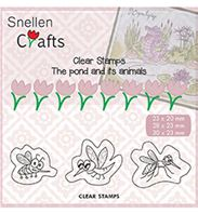 Clear stamps - Insects