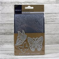 Embossing Folder & Die Set - Butterfly Dreams