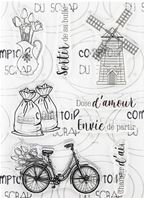 Clear stamps - Tulipe