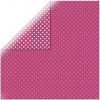 Papier - Dots&stripes - Hot pink