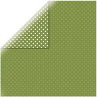 Papier - Dots&stripes - Leaf green