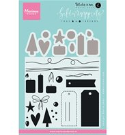 Clear Stamps - Giftwrapping - Tags & Threads