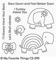 Clear stamp - Too-cute Turtles