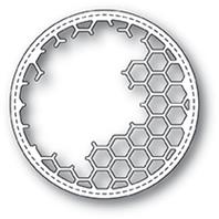 Die - Honeycomb Stitched Circle Frame