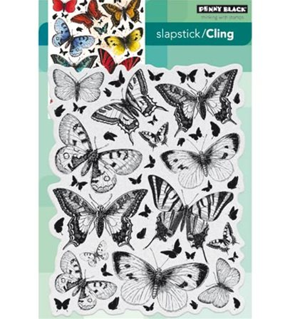 Cling Stamp - Butterfly charmer