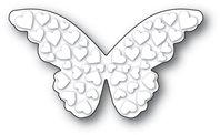 Die - Embossed Heart Butterfly