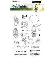 Clear Stamp - Favourites - Tropical Jungle 334