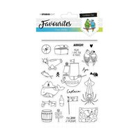Favourites Clear Stamps- Caribbean sea - 384