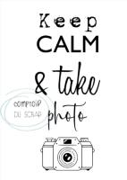 Clear stamps - Keep calm